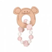 Lassig μασητικό βραχιόλι από σιλικόνη - Little Chums Mouse 1313006725