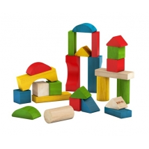 Brio σετ 25 ξύλινα τουβλάκια - 30114