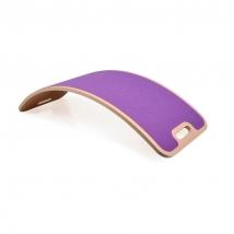Curvelab σανίδα ισορροπίας με τσόχα - Purple