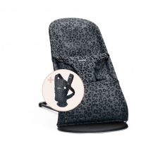 BabyBjörn Starter Kit για το νεογέννητο - Anthracite/Anthracite 3D mesh 608078A