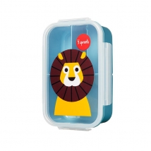3 sprouts τάπερ Lunch Bento Box - Lion