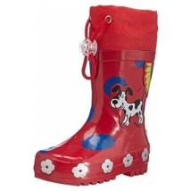Playshoes γαλότσες, κορίτσι - Red dots 188569