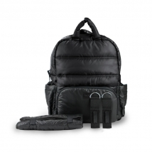 7AM τσάντα αλλαγής πλάτης BK718 - Black