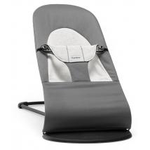 BabyBjörn ρηλάξ Balance Soft, Cotton - Dark Grey/Grey, Cotton/Jersey 005084