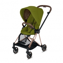 Cybex Mios παιδικό καρότσι Rosegold - Khaki Green
