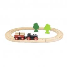 Brio παιδικό τραινάκι Little Forest - 33042