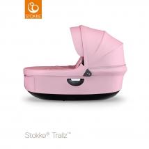 Stokke® Stroller Black πορτ μπεμπέ - Lotus pink