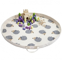 3 sprouts στρώμα παιχνιδιού και τσάντα 2 σε 1 - Hedgehog