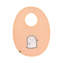 Lassig σαλιάρα μεσαία - Little Spookies peach