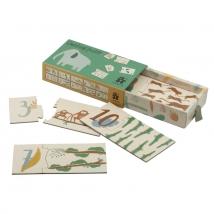 Sebra puzzle με αριθμούς 1-10 - Wildlife 3015309