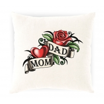Hugs τετράγωνο μαξιλάρι - Butter with Mum & Dad