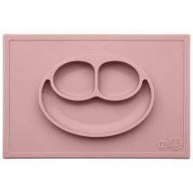 Ezpz εκπαιδευτικό πιάτο Happy Mat - Blush