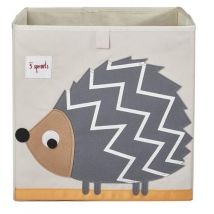 3 sprouts τετράγωνο καλάθι για τα παιχνίδια - Hedgehog