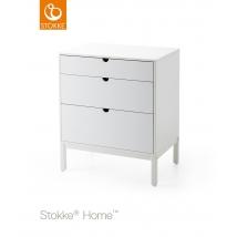 Stokke  συρταριέρα - white