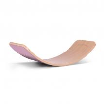 Wobbel ξύλινη σανίδα ισορροπίας με τσόχα - Wild Rose