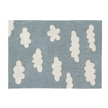 Lorena Canals παιδικό χαλί Clouds - Clouds vintage blue C-CL-VB