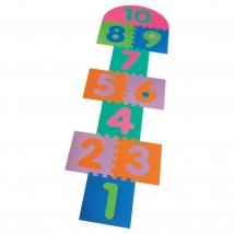 Playshoes EVA puzzle - 308742_10τμχ κουτσό
