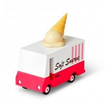 Candylab ξύλινο όχημα Candyvan - Ice Cream CL008751