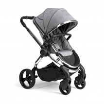 iCandy Peach 2020 παιδικό καρότσι - Chrome Light Grey Check