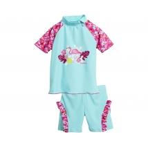 Playshoes μαγιό set UPF50+ girl - Flamingo 461202