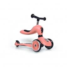 Scoot & Ride Highwaykick 1 παιδικό όχημα 3 σε 1 - Peach