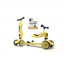 Scoot & Ride Highwaykick 1 παιδικό όχημα 3 σε 1 - Lemon