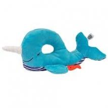 Zoocchini κουδουνίστρα για μωρά - Whale blue