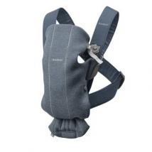 BabyBjörn Mini μάρσιπος 3D Jersey - Dove Blue, 021031