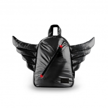 7AM MINI παιδικό backpack Wings - Black
