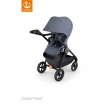 Stokke® Beat™ παιδικό καρότσι - Blue melange