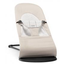 BabyBjörn ρηλάξ Balance Soft, Cotton - Beige/Grey, Cotton/Jersey 005083