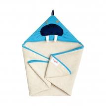 3 sprouts πετσέτα με κουκούλα - Walrus