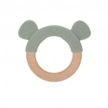 Lassig μασητικό δαχτυλίδι από σιλικόνη - Little Chums Cat 1313007108