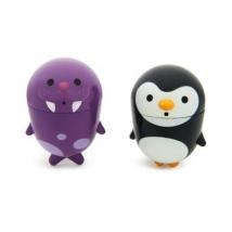 Munchkin παιχνίδια μπάνιου 2τμχ - Penguin / Walrus
