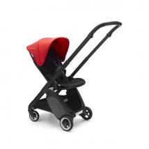 Bugaboo Ant παιδικό καρότσι - Black-black-neon red