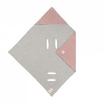 Lassig πλεκτή κουβέρτα για τη βόλτα - Dusky pink 1542014799