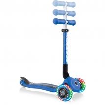 Globber πτυσσόμενο πατίνι Junior Fantasy lights - Racing Navy Blue 433-100