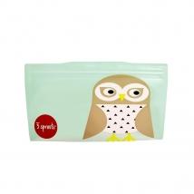 3 Sprouts θήκες για σνακ - Owl