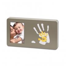 BabyArt κορνίζα γλυπτικής με φωτογραφία με διχρωμία - taupe 34120098