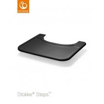 Stokke Steps δίσκος - μαύρος