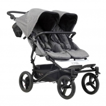Mountain buggy® Duet Luxury Collection παιδικό καρότσι για δύο παιδιά - Herringbone