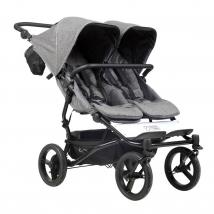 Mountain buggy® Duet Luxury Collection παιδικό καρότσι για δύο παιδιά - Herringbone