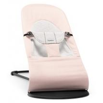 BabyBjörn ρηλάξ Balance Soft, Cotton - Light Pink/Grey, Cotton/Jersey 005089