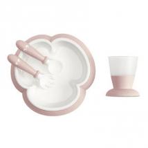 BabyBjörn βρεφικό σετ φαγητού - Powder Pink 078164