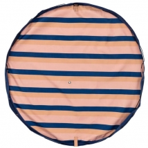 Play & Go στρώμα παιχνιδιού και τσάντα 2 σε 1 Outdoor - Mokka stripes PG301275