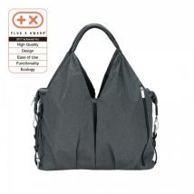 Lassig Green Label Neckline τσάντα αλλαγής Melange - Spin Dye black melange 1001001