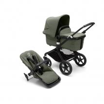Bugaboo Fox³ παιδικό καρότσι Forest Green Complete - Black/Forest Green-Forest Green