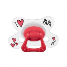 Difrax πιπίλες I Love Papa