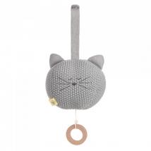 Laessig πλεχτό μουσικό παιχνίδι Little Chums - Cat 1313014108