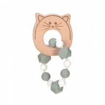 Lassig μασητικό βραχιόλι από σιλικόνη - Little Chums Cat 1313006108